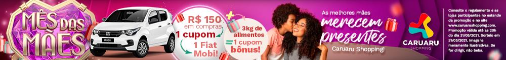 campanha mães Caruaru Shopping
