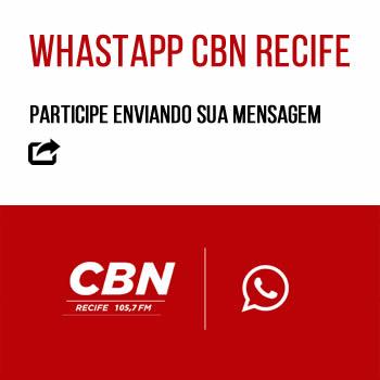 RÁDIO CBN RECIFE 350X350 WHATSAPP